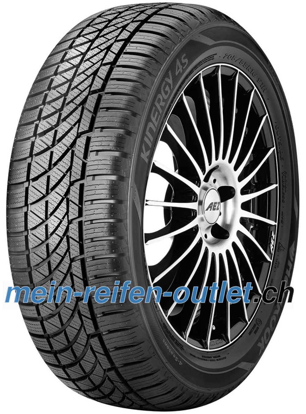 Hankook Kinergy 4S H740 ( 185/60 R14 82H )
