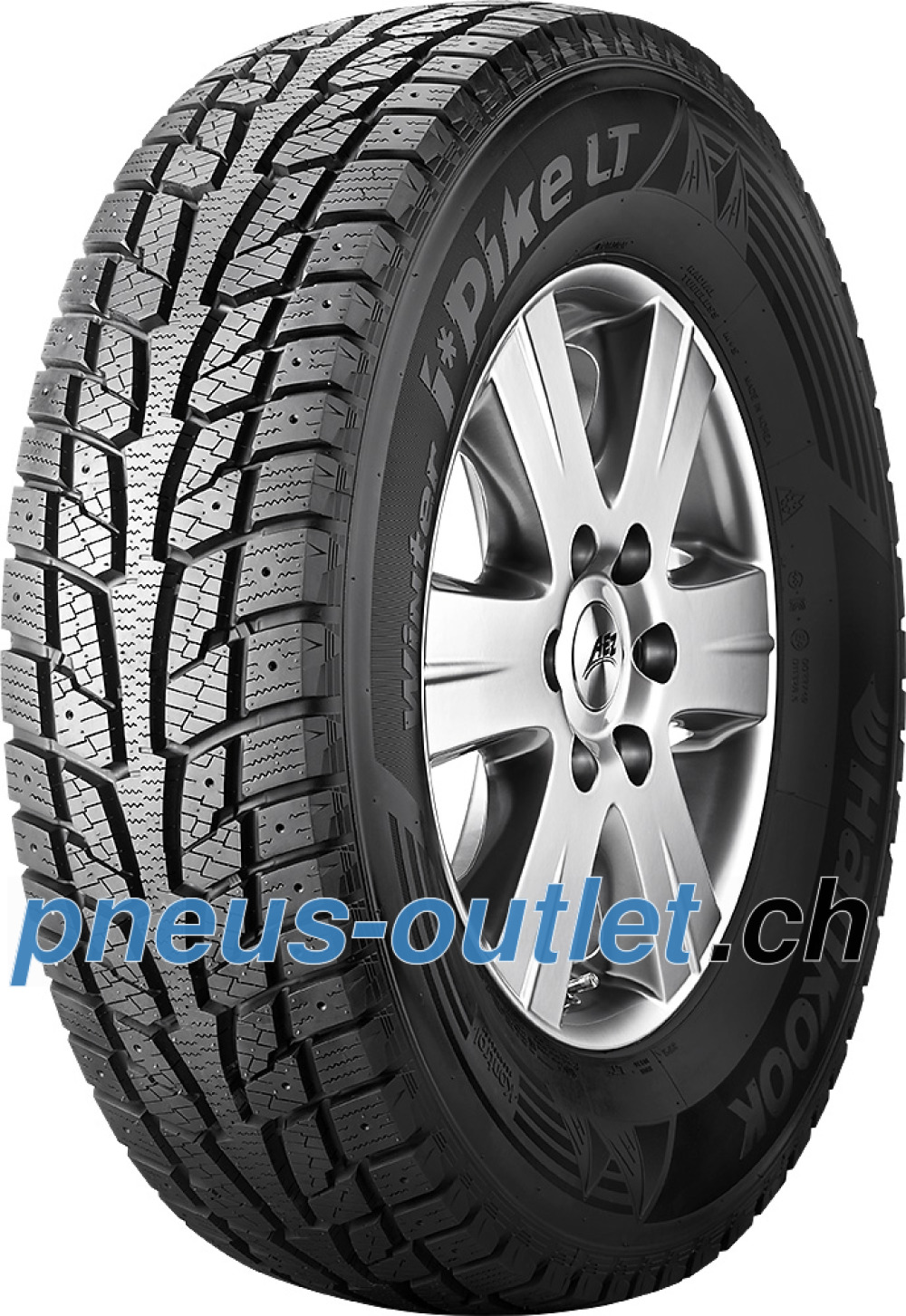 Hankook Winter i*Pike LT (RW09) ( 215/70 R15 109/107R , Cloutable )