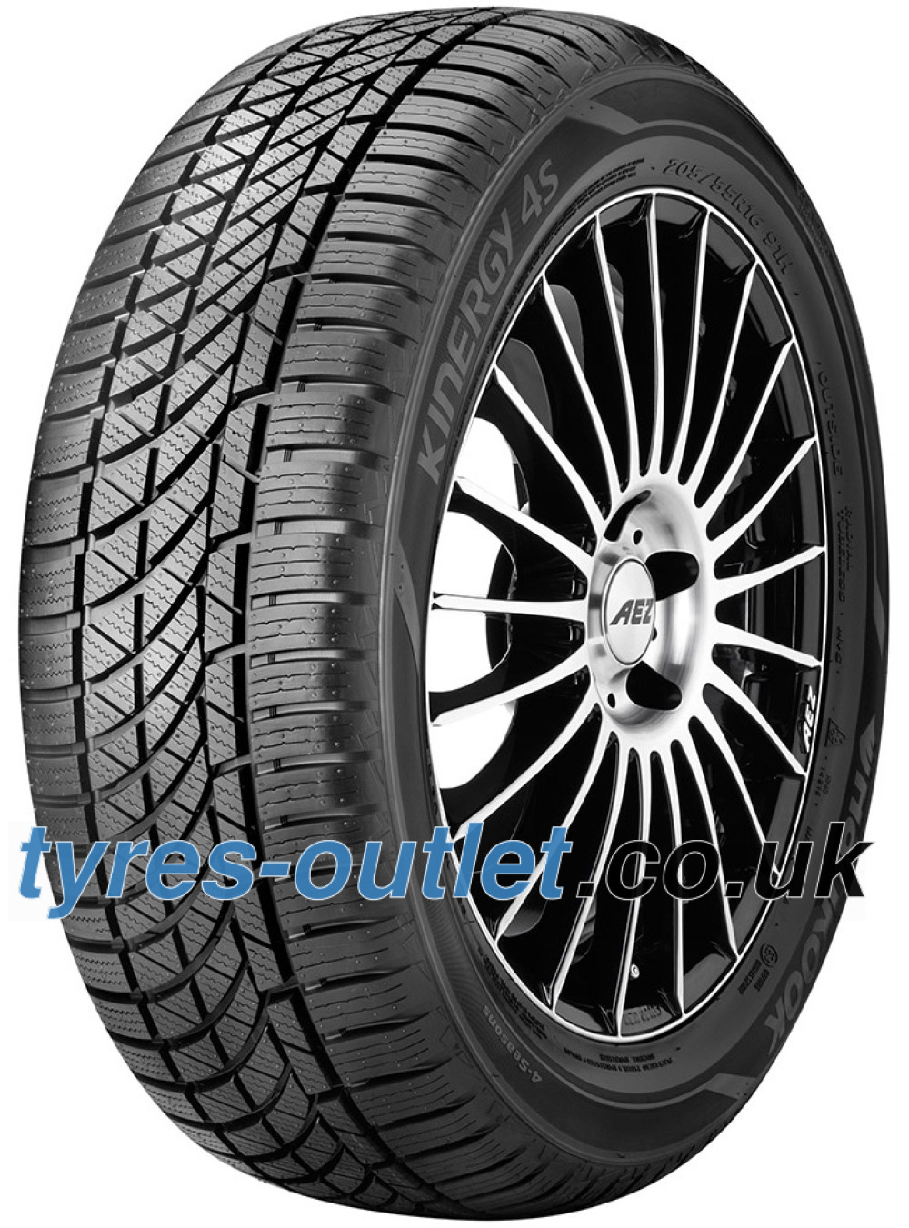 Hankook Kinergy 4S H740 ( 195/55 R15 85H , with rim protection (MFS) )