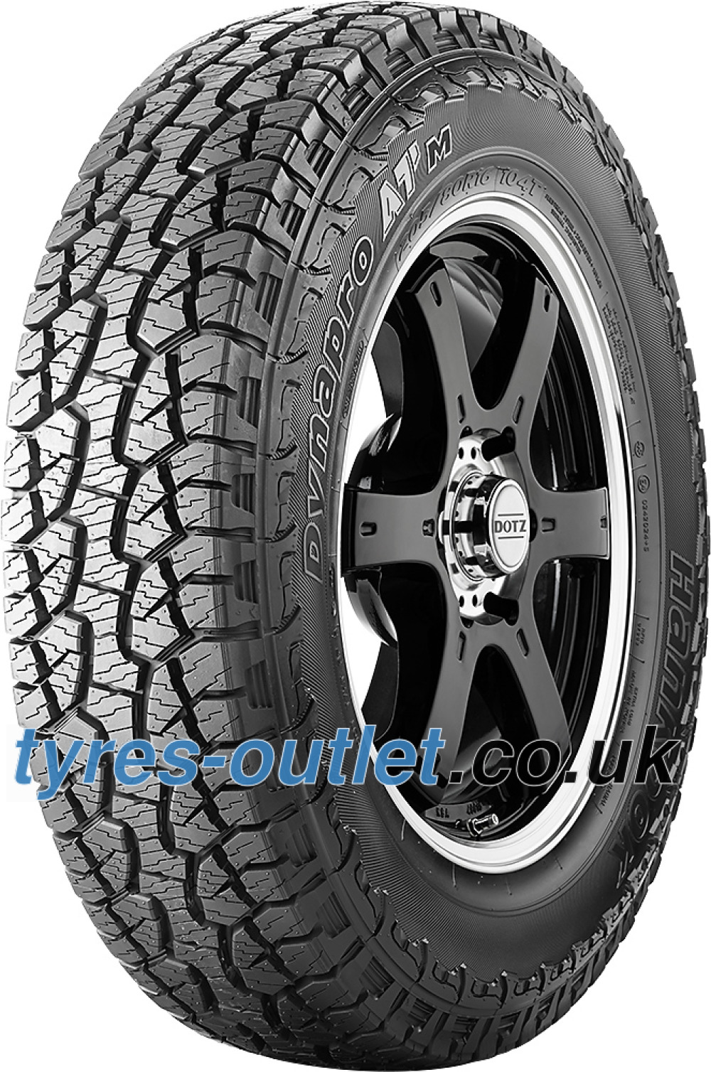 Hankook Dynapro ATM RF10 ( 205/80 R16 104T XL , with rim protection (MFS) SBL )