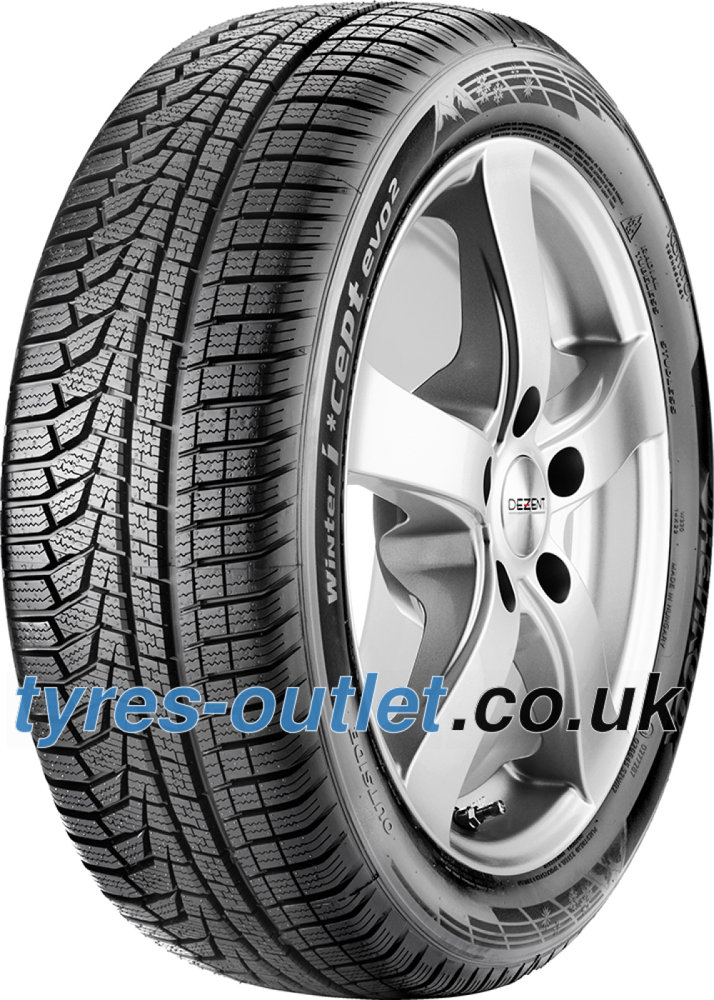 Hankook i*cept evo² (W320) ( 235/55 R17 103V XL , with rim protection (MFS) SBL )