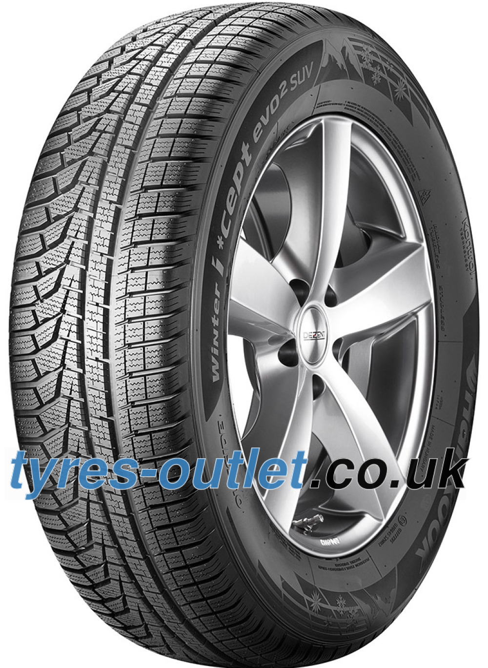 Hankook i*cept evo² (W320A) ( 235/55 R19 105V XL , with rim protection (MFS) SBL )