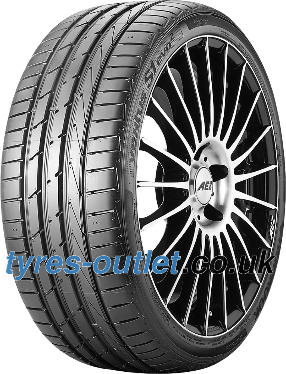 Hankook Ventus S1 Evo 2 K117 HRS ( 205/45 R17 84W with rim protection (MFS), runflat SBL )