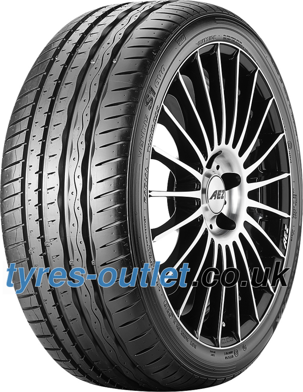 Hankook Ventus S1 Evo K107 ( 225/40 ZR18 92Y XL with rim protection (MFS) SBL )