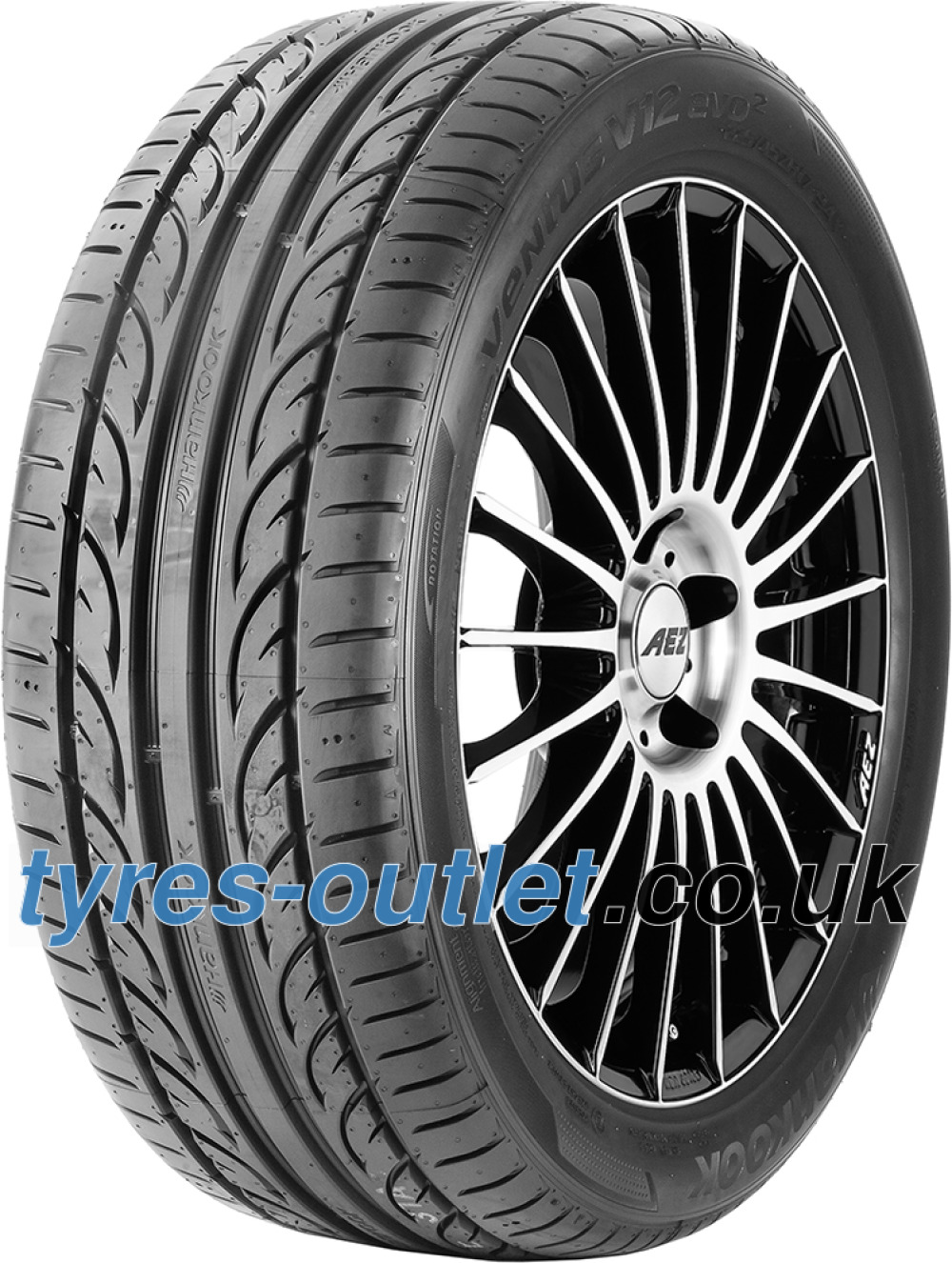 Hankook Ventus V12 Evo 2 K120 ( 255/30 ZR19 91Y XL with rim protection (MFS) SBL )