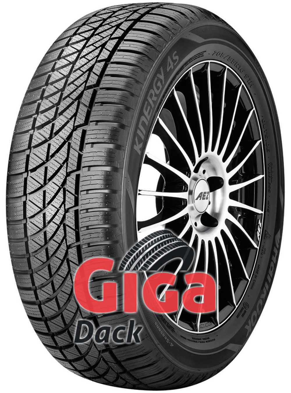 Hankook Kinergy 4S H740 ( 215/50 R17 95V XL )