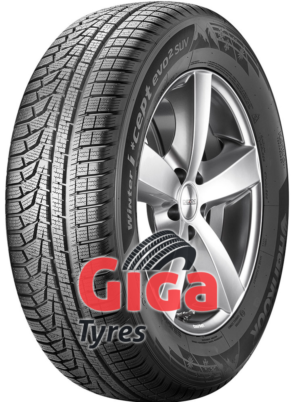 Hankook i*cept evo² (W320A) ( 255/55 R20 110V XL , with rim protection (MFS) SBL )