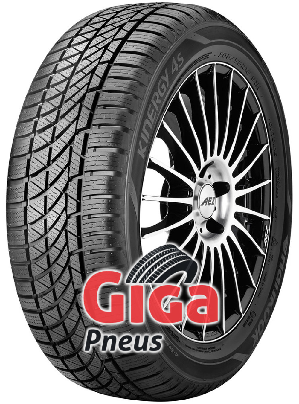 Hankook Kinergy 4S H740 ( 175/70 R14 88T XL SBL )