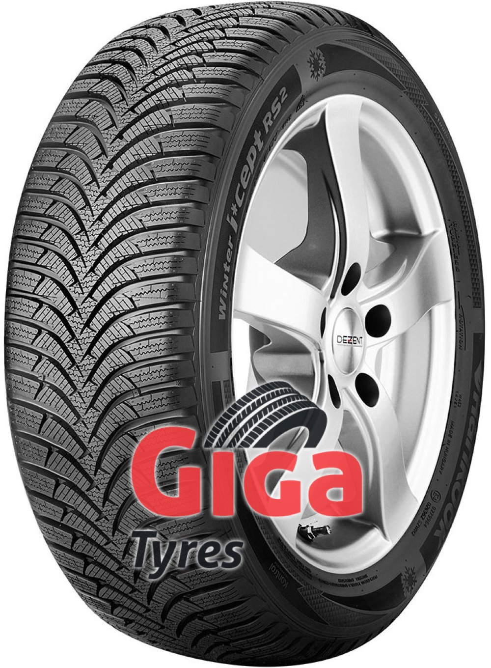 Hankook i*cept RS 2 (W452) ( 195/50 R15 82T 4PR , with rim protection (MFS) SBL )