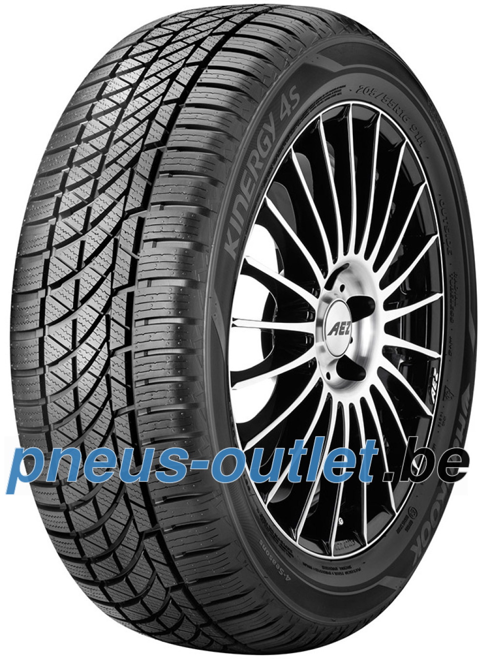Hankook Kinergy 4S H740 ( 165/70 R14 85T XL SBL )