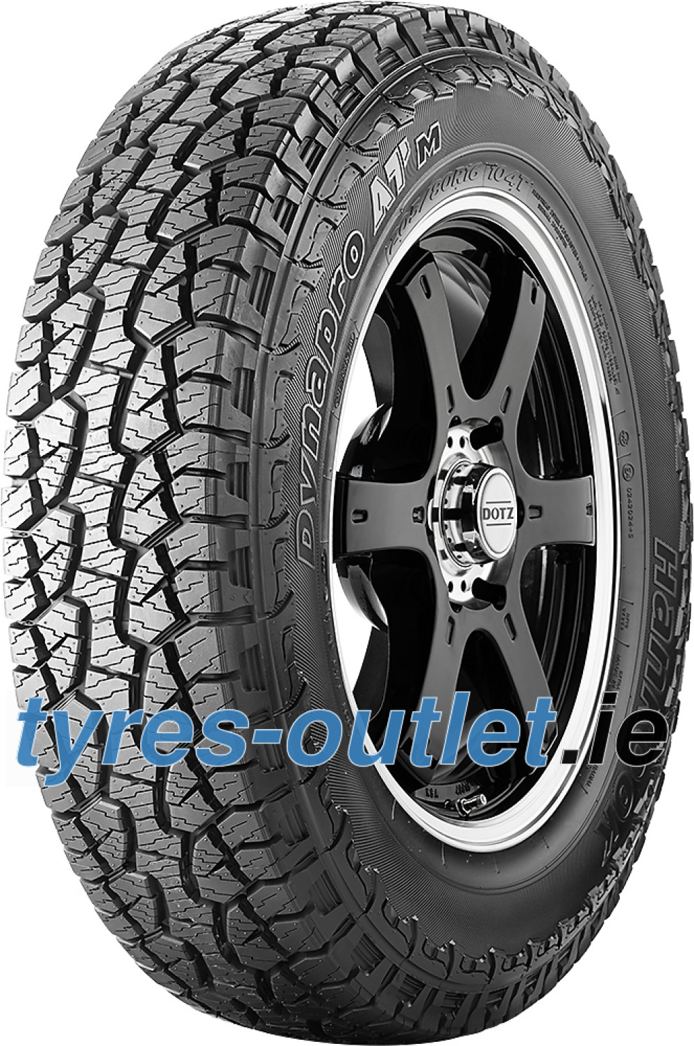 Hankook Dynapro ATM RF10 ( P245/70 R17 108T , with rim protection (MFS) OWL )