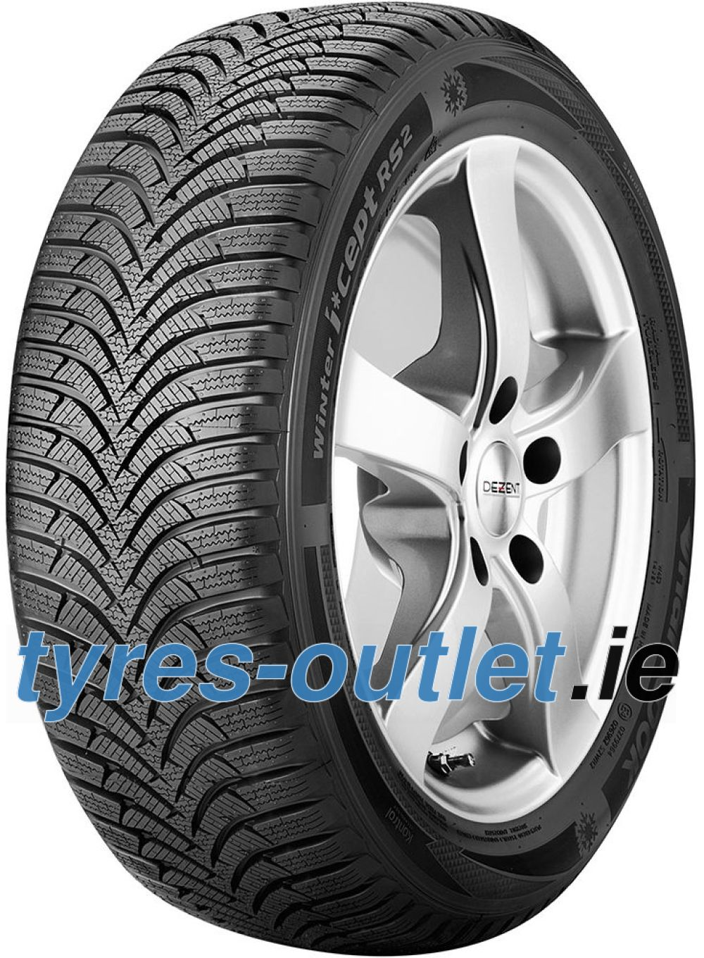 Hankook i*cept RS 2 (W452) ( 225/45 R17 91H 4PR , with rim protection (MFS) SBL )