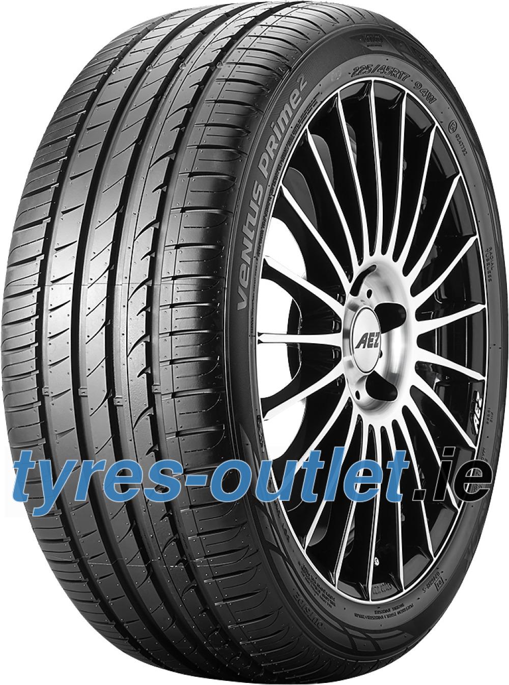 Hankook Ventus Prime 2 K115 ( 225/40 R18 88V with rim protection (MFS) SBL )