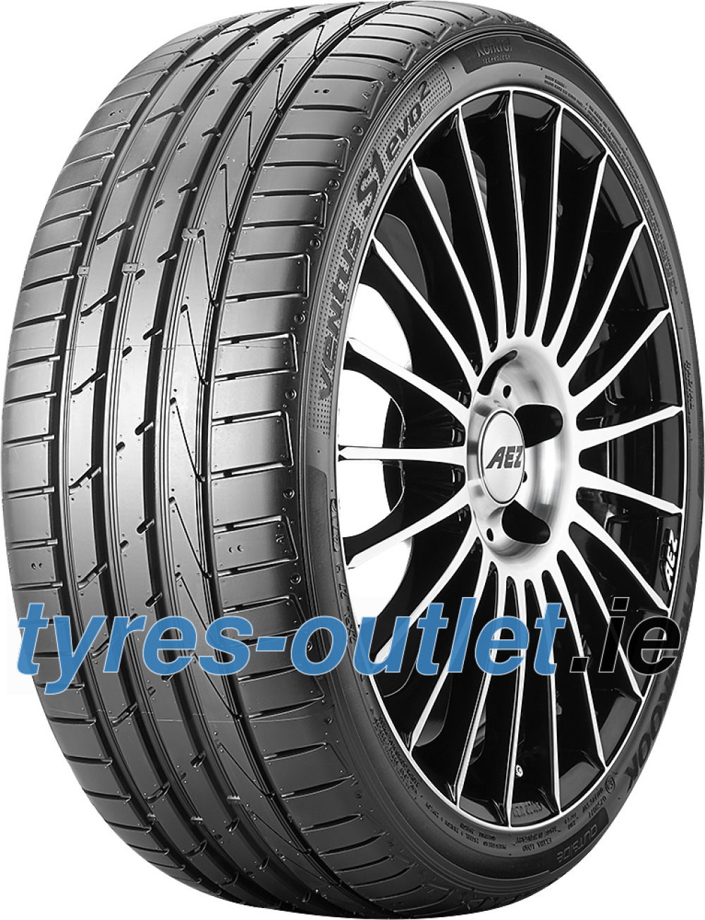 Hankook Ventus S1 Evo 2 K117 ( 265/35 ZR19 98Y XL with rim protection (MFS) SBL )