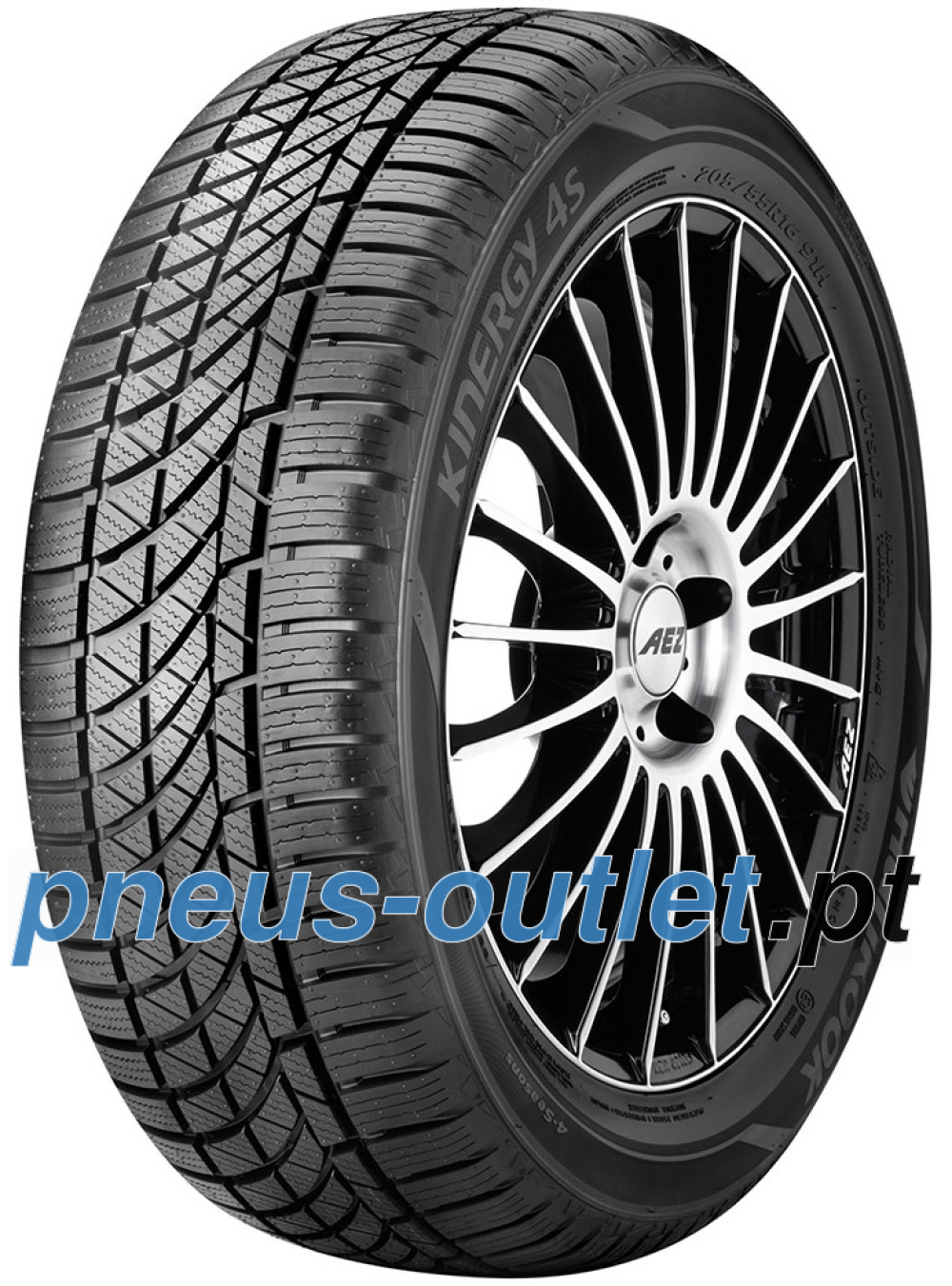 Hankook Kinergy 4S H740 ( 185/60 R15 88T XL SBL )