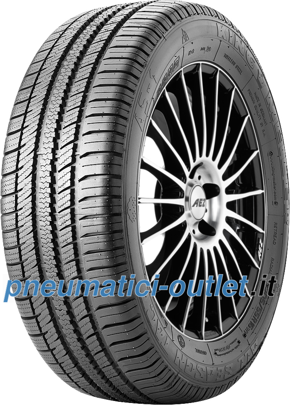 King Meiler AS-1 ( 215/55 R16 93V , rinnovati )