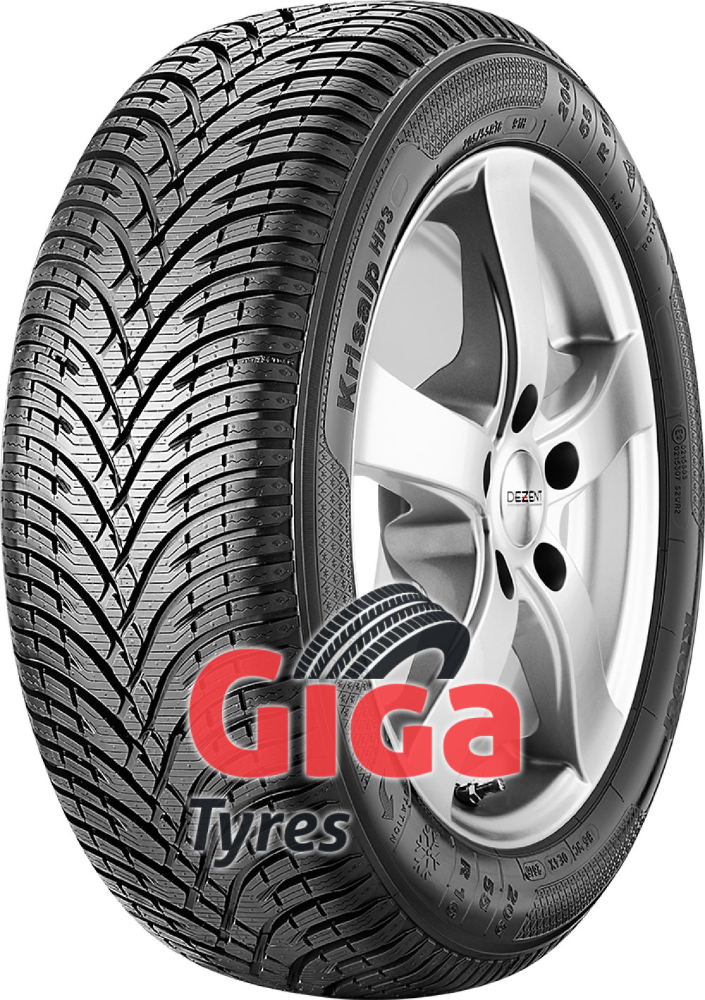 Kleber Krisalp HP 3 ( 225/40 R18 92V XL , with rim protection ridge (FSL) )