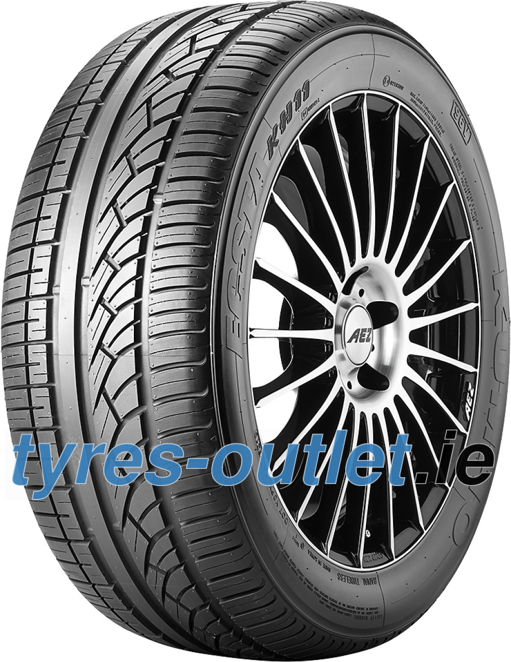 Kumho Ecsta KH11 ( 155/60 R15 74T with rim protection ridge (FSL) )