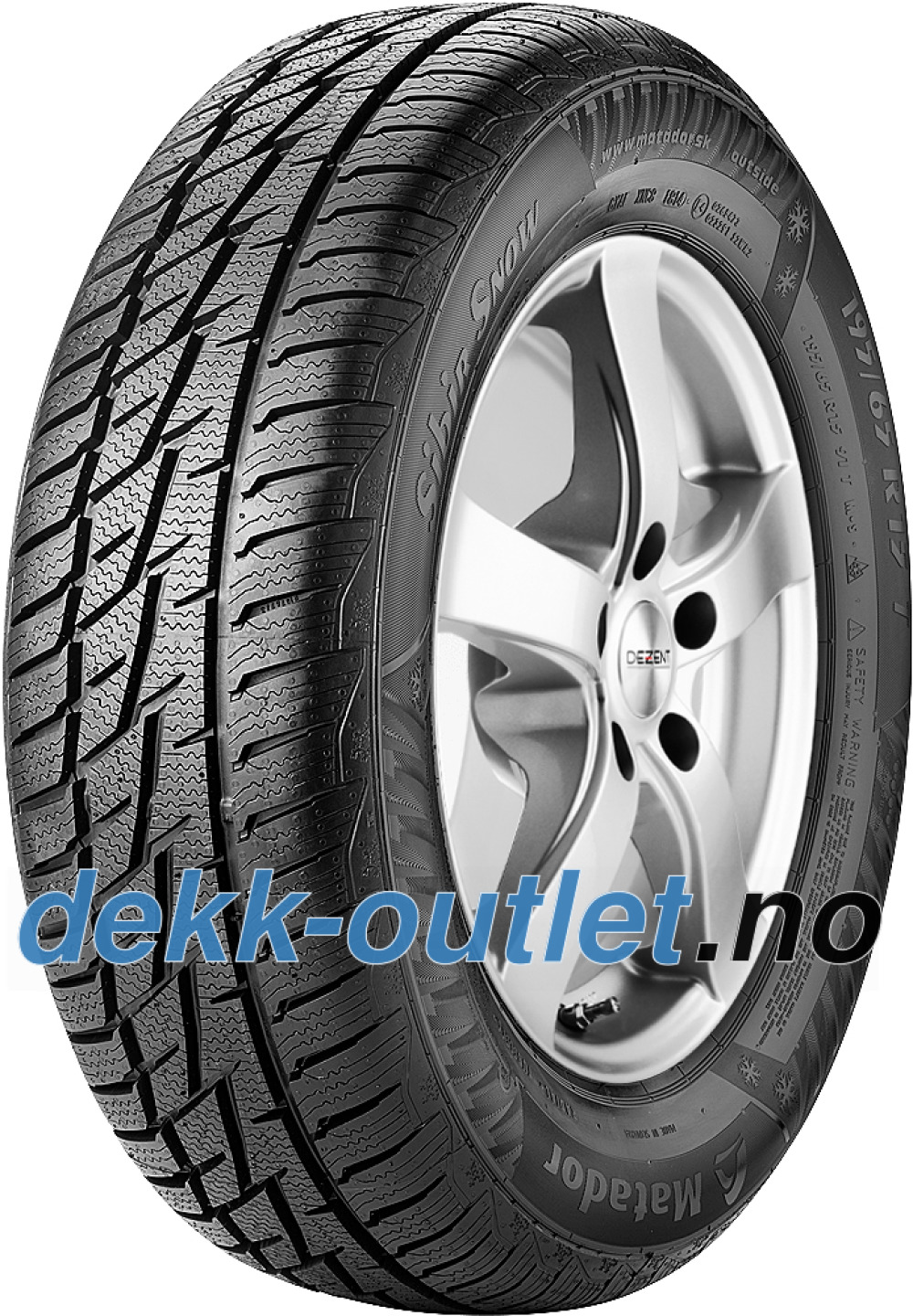 Matador MP92 Sibir Snow ( 255/60 R17 106H , SUV )