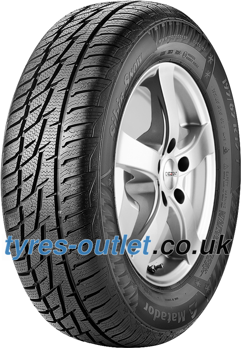 Matador MP92 Sibir Snow ( 235/65 R17 108H XL , SUV, with kerbing rib )