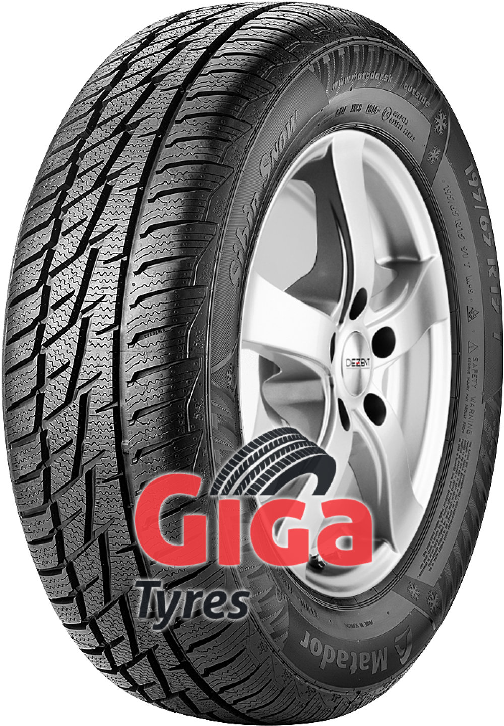 Matador MP92 Sibir Snow ( 275/55 R17 109H , SUV )