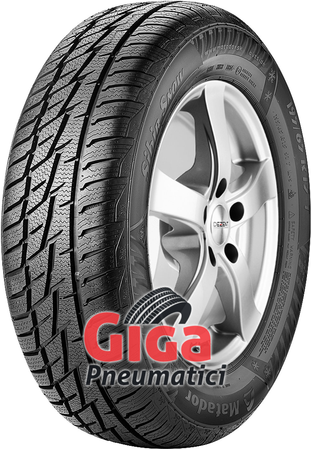 Matador MP92 Sibir Snow ( 195/50 R15 82H )