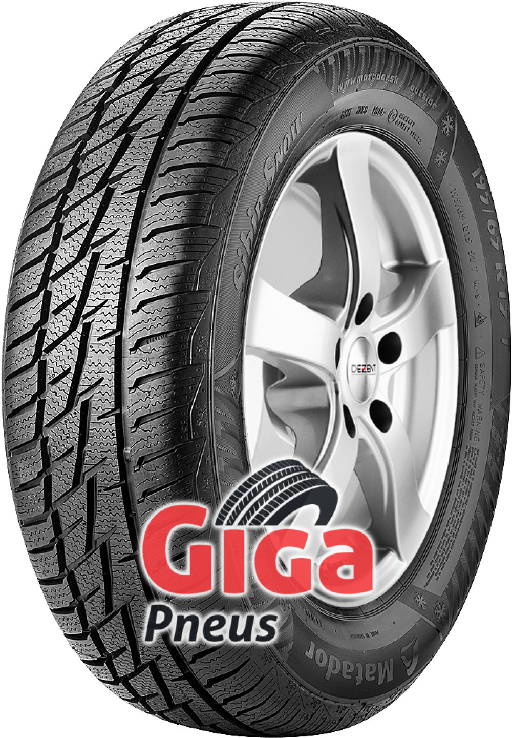 Matador MP92 Sibir Snow ( 205/60 R15 91T )