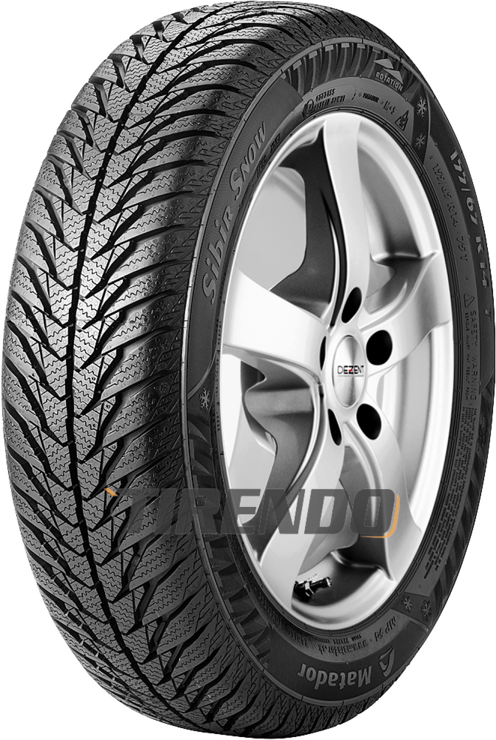 Matador MP54 Sibir Snow ( 165/60 R14 79T XL )