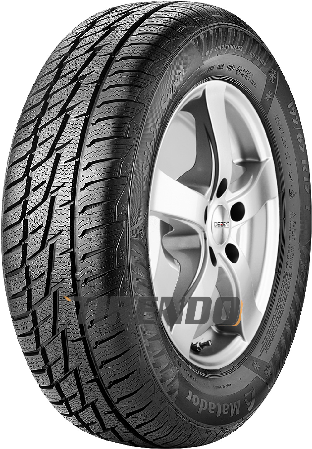 Image of 205/60R 1696H MP92SIBIR SNOW XL Winter/Winter by Continental