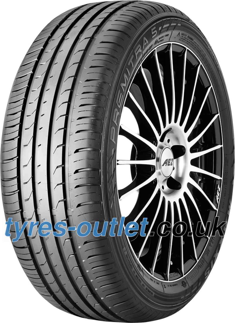 Maxxis Premitra HP5 ( 205/55 ZR16 94W XL with rim protection ridge (FSL) )