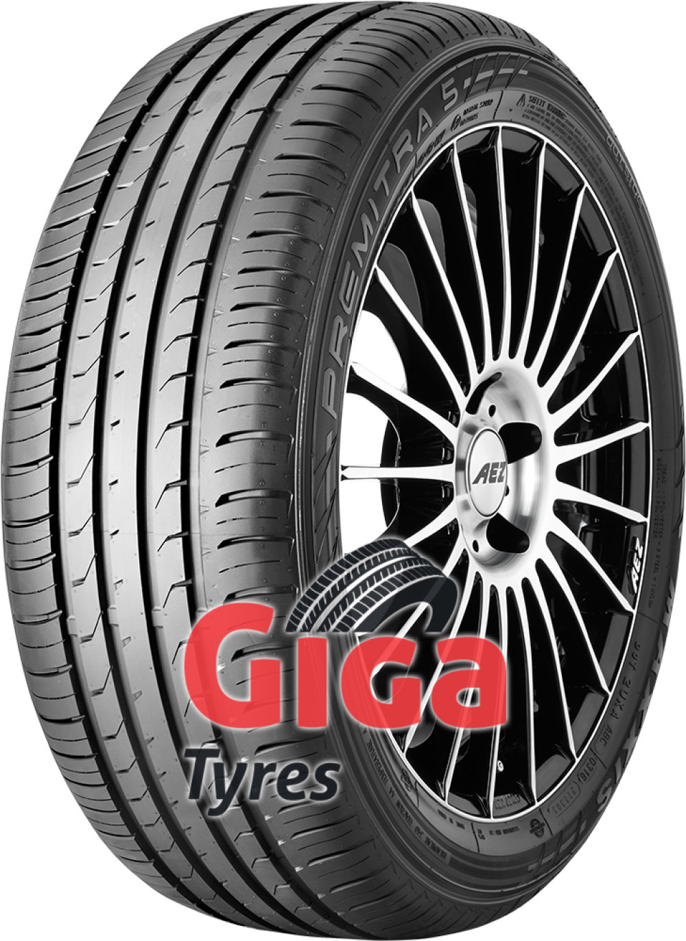 Maxxis Premitra 5 ( 195/55 R16 87V with rim protection ridge (FSL) )