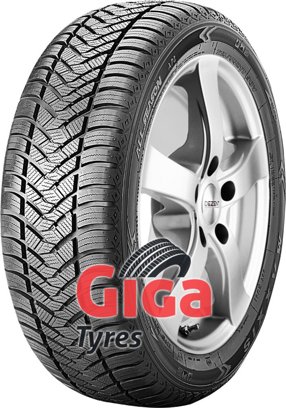 Maxxis AP2 All Season ( 225/45 R18 95V XL , with rim protection ridge (FSL) )