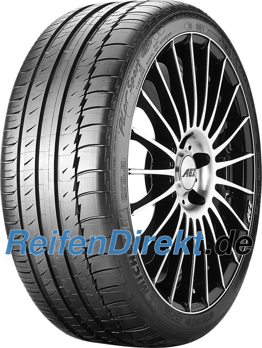 Michelin Pilot Sport PS2 ZP ( 275/35 ZR18 95Y runflat, mit Felgenschutzleiste (FSL) )