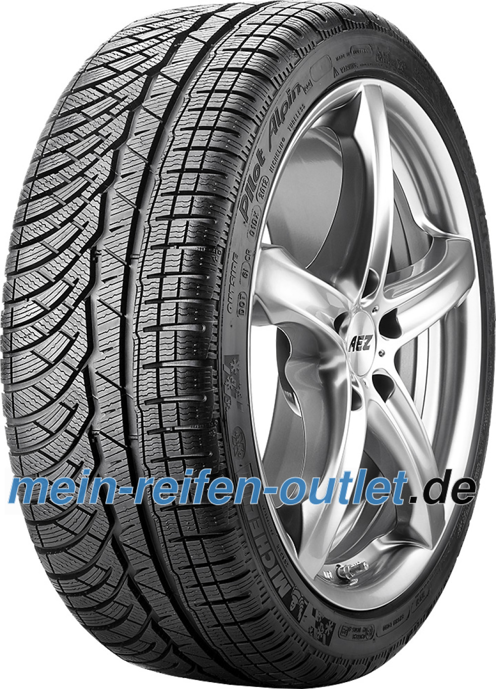 Michelin Pilot Alpin PA4 ( 285/35 R20 104W XL )