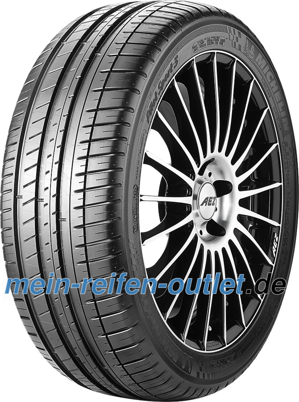 Michelin Pilot Sport 3 ( 245/40 ZR18 97Y XL AO, GRNX, mit Felgenschutzleiste (FSL) )