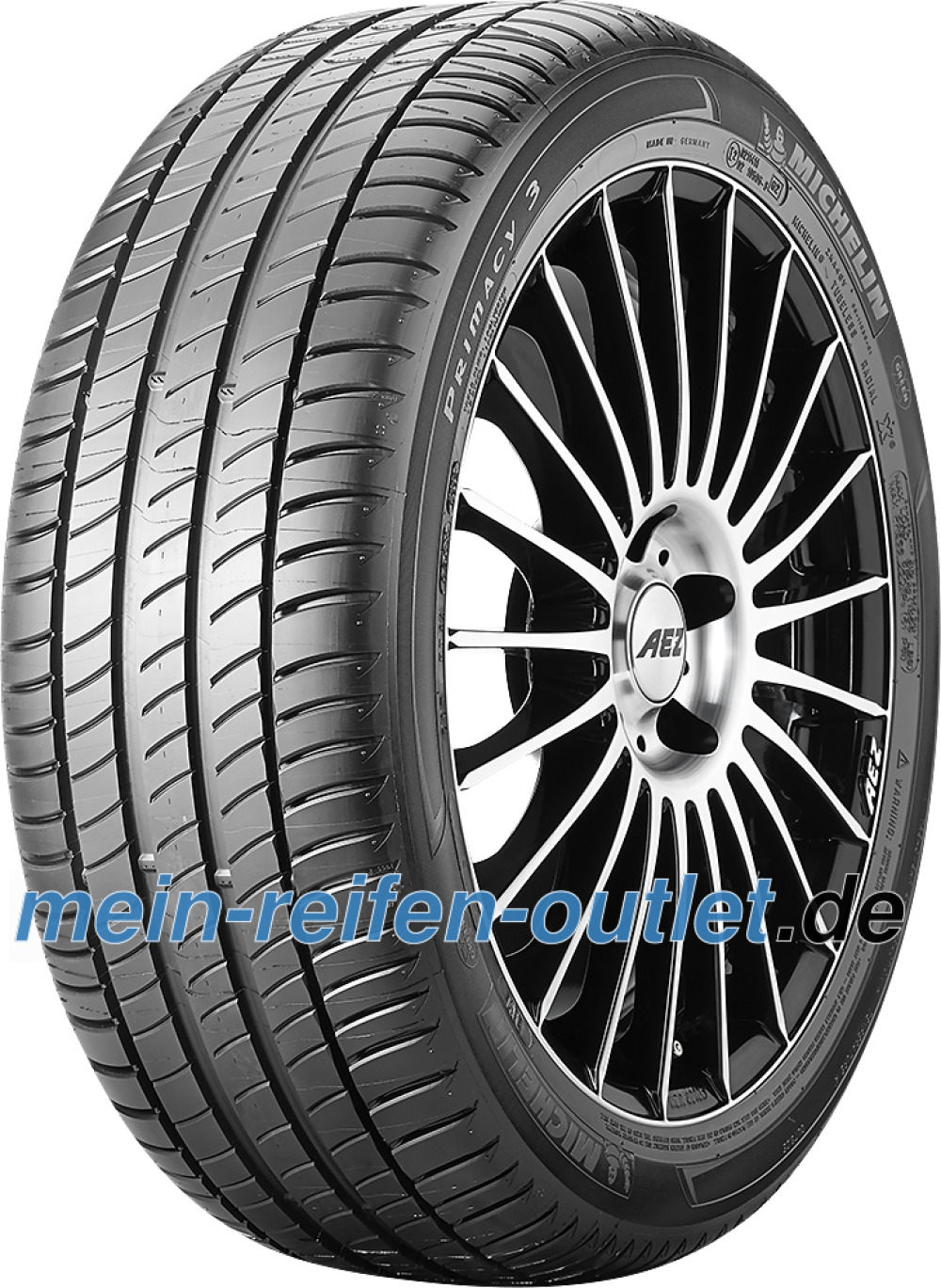 Michelin Primacy 3 ( 245/40 R19 98Y XL *, MO, mit Felgenschutzleiste (FSL) )