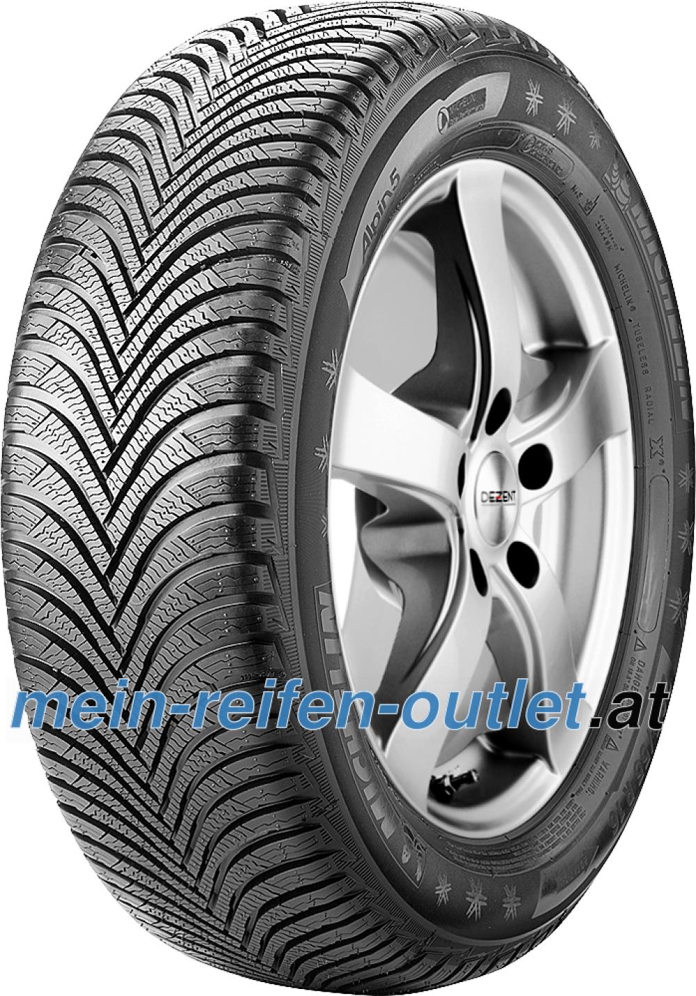 Michelin Alpin 5 ZP ( 225/45 R17 91V , runflat, mit Felgenschutzleiste (FSL) )