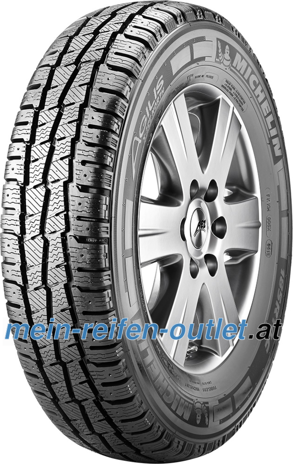 Michelin Agilis X-Ice North ( 185/80 R14C 102/100R , bespikebar )