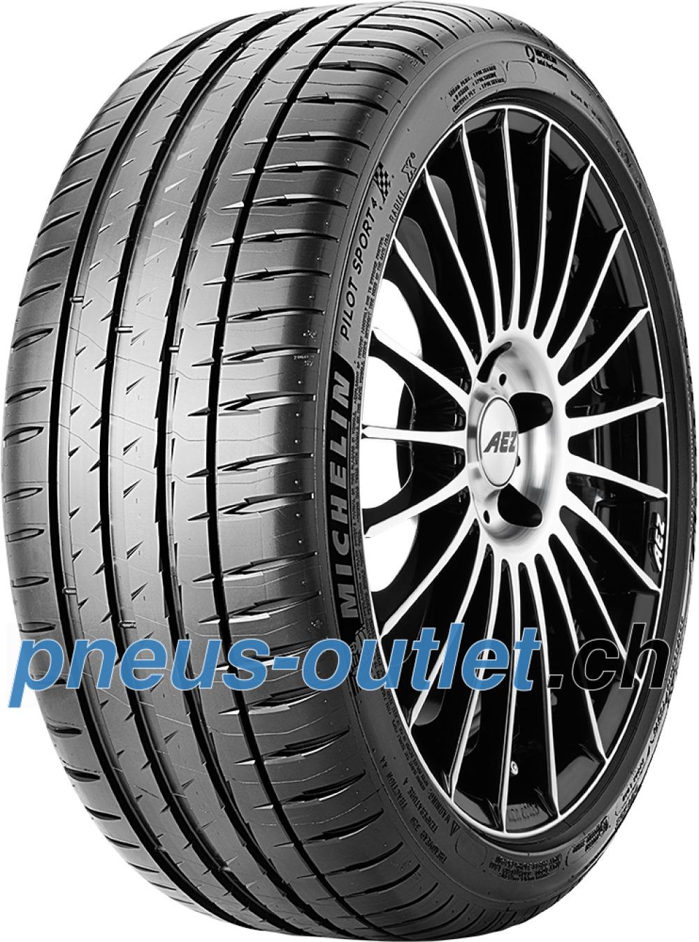 Michelin Pilot Sport 4 ( 225/40 ZR18 92W XL avec rebord protecteur de jante (FSL) )