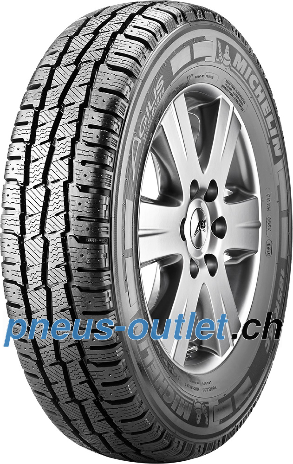 Michelin Agilis X-Ice North ( 185/75 R16C 104/102R , Cloutable )