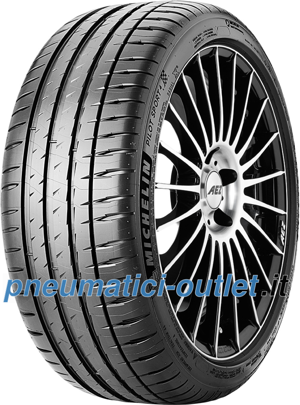 Michelin Pilot Sport 4 ( 265/35 ZR18 (97Y) XL con bordino di protezione del cerchio (FSL) )