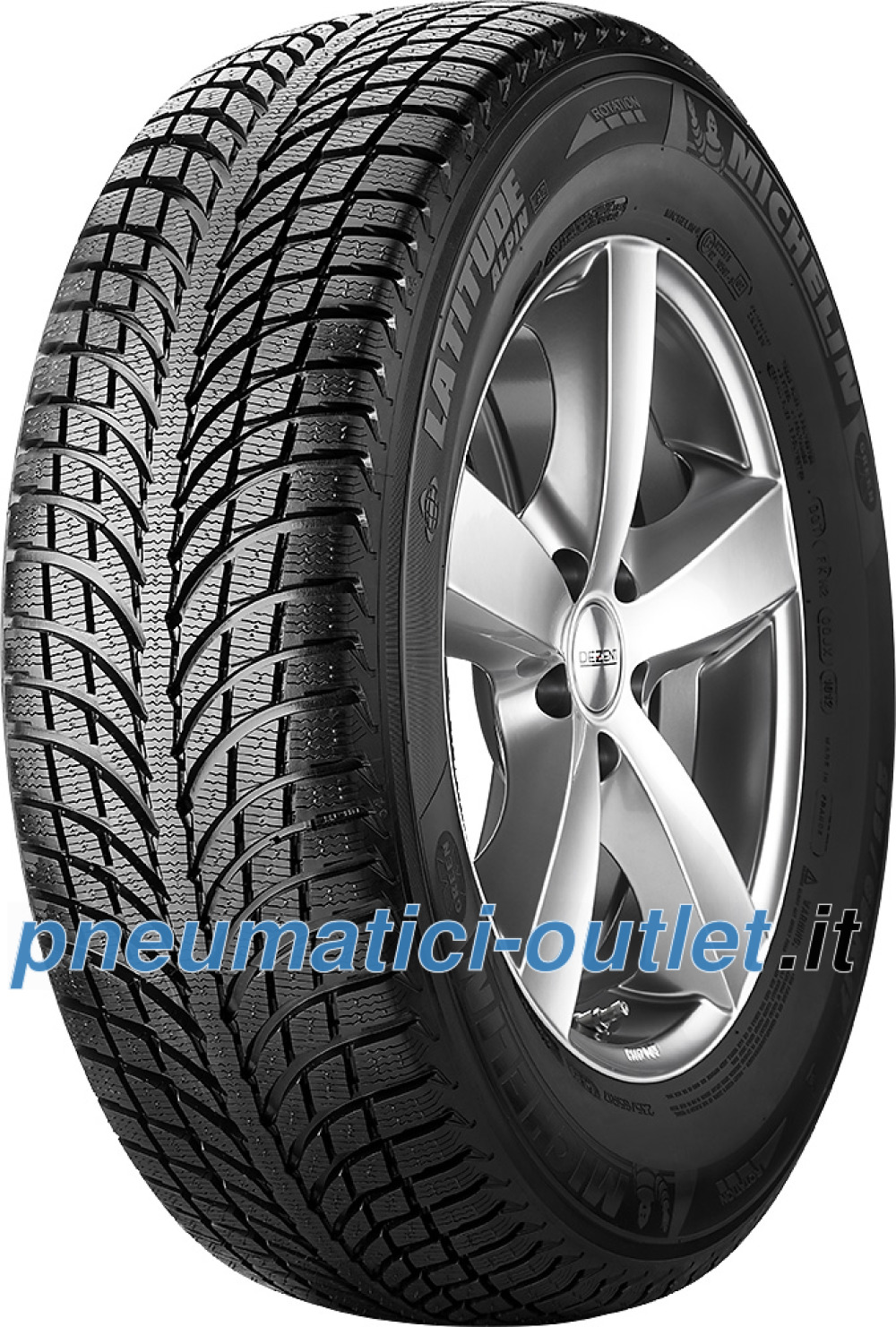 Michelin Latitude Alpin LA2 ( 235/65 R17 104H AO )