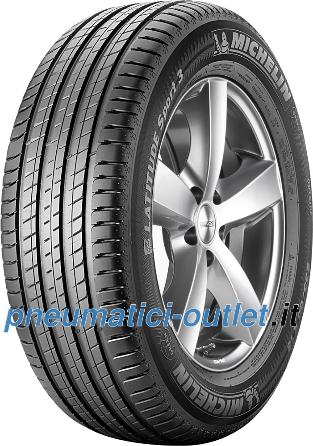 Michelin Latitude Sport 3 ( 235/55 R19 105V XL )