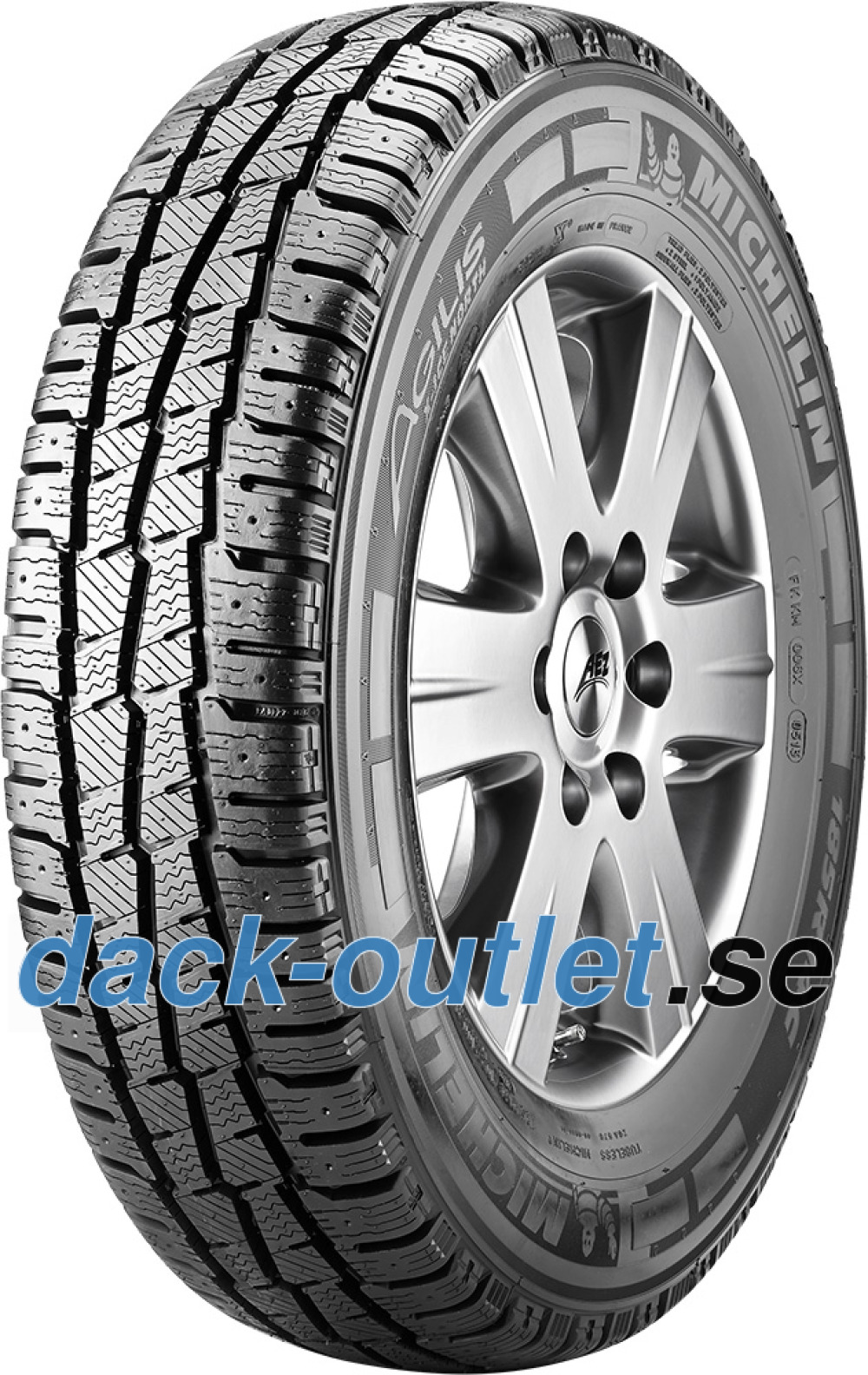 Michelin Agilis X-Ice North ( 225/65 R16C 112/110R , Dubbade )