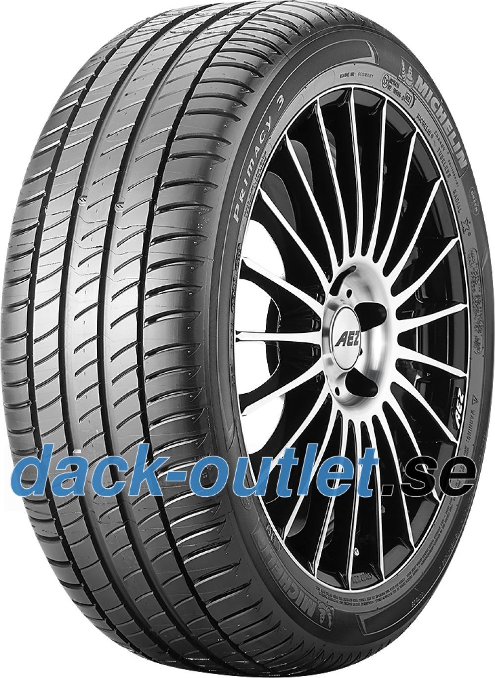Michelin Primacy 3 ZP ( 225/50 R17 94W runflat, MOE, med fälg skyddslist (FSL) )