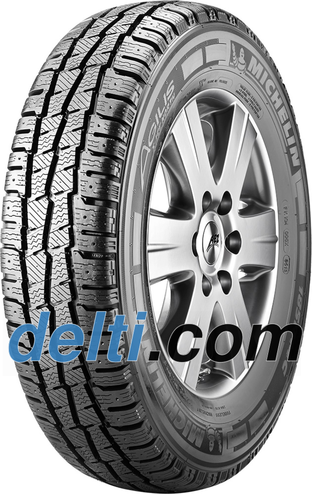Michelin Agilis X-Ice North ( 235/65 R16C 115/113R , med pigger )
