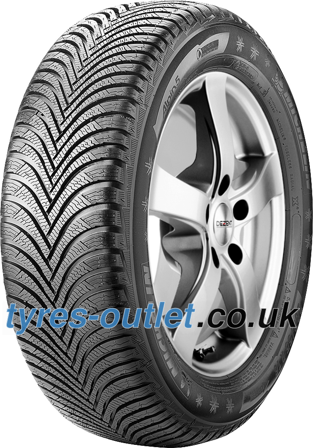 Michelin Alpin 5 ( 205/50 R17 93H XL , with rim protection ridge (FSL) )