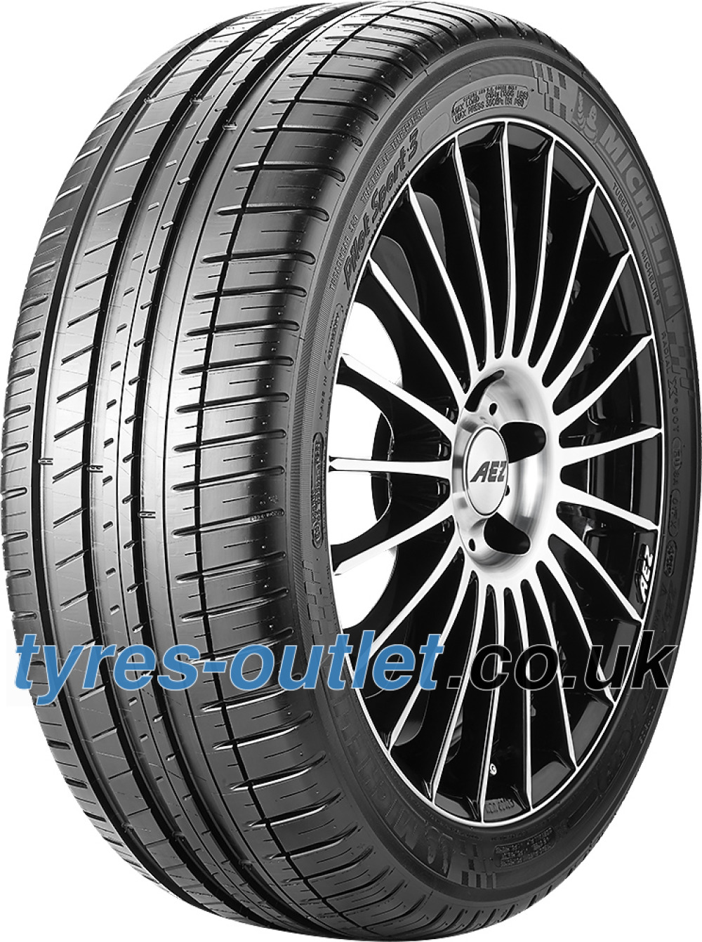 Michelin Pilot Sport 3 ( 245/40 R18 93Y MO, GRNX, with rim protection ridge (FSL) )