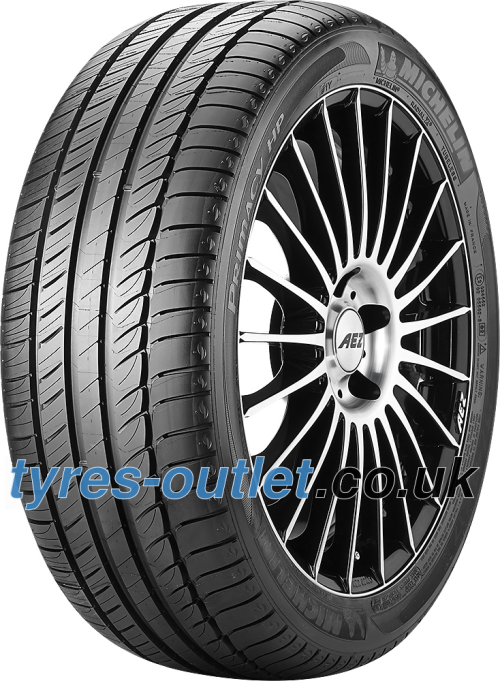 Michelin Primacy HP ( 245/40 R17 91Y MO, GRNX, with rim protection ridge (FSL) )