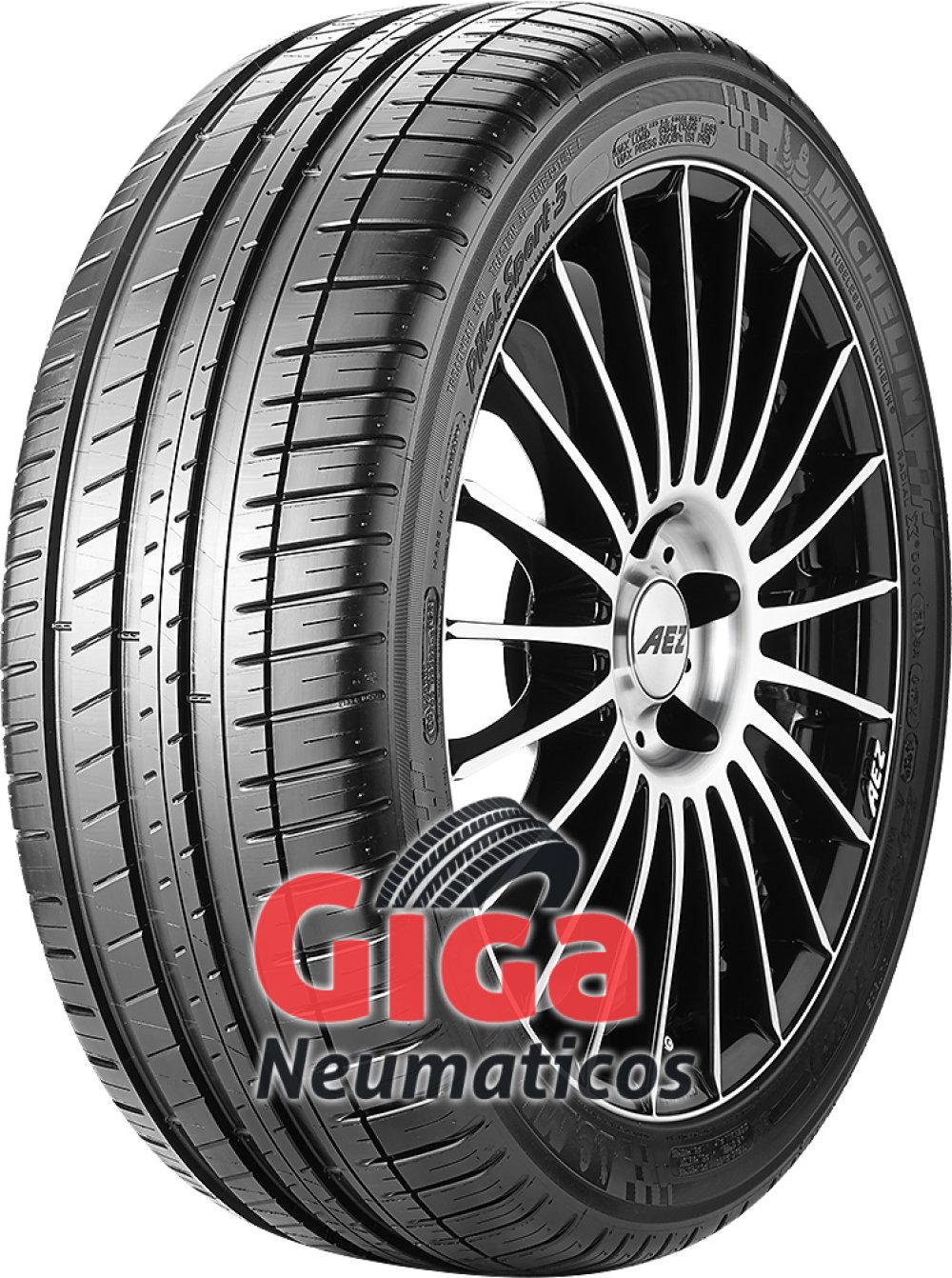 Michelin Pilot Sport 3 ( 255/40 ZR18 (99Y) XL con cordón de protección de llanta (FSL), MO1, GRNX )